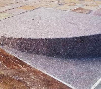 Thresholds and plinths for driveways
